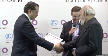 Entrega Climate Change Awards